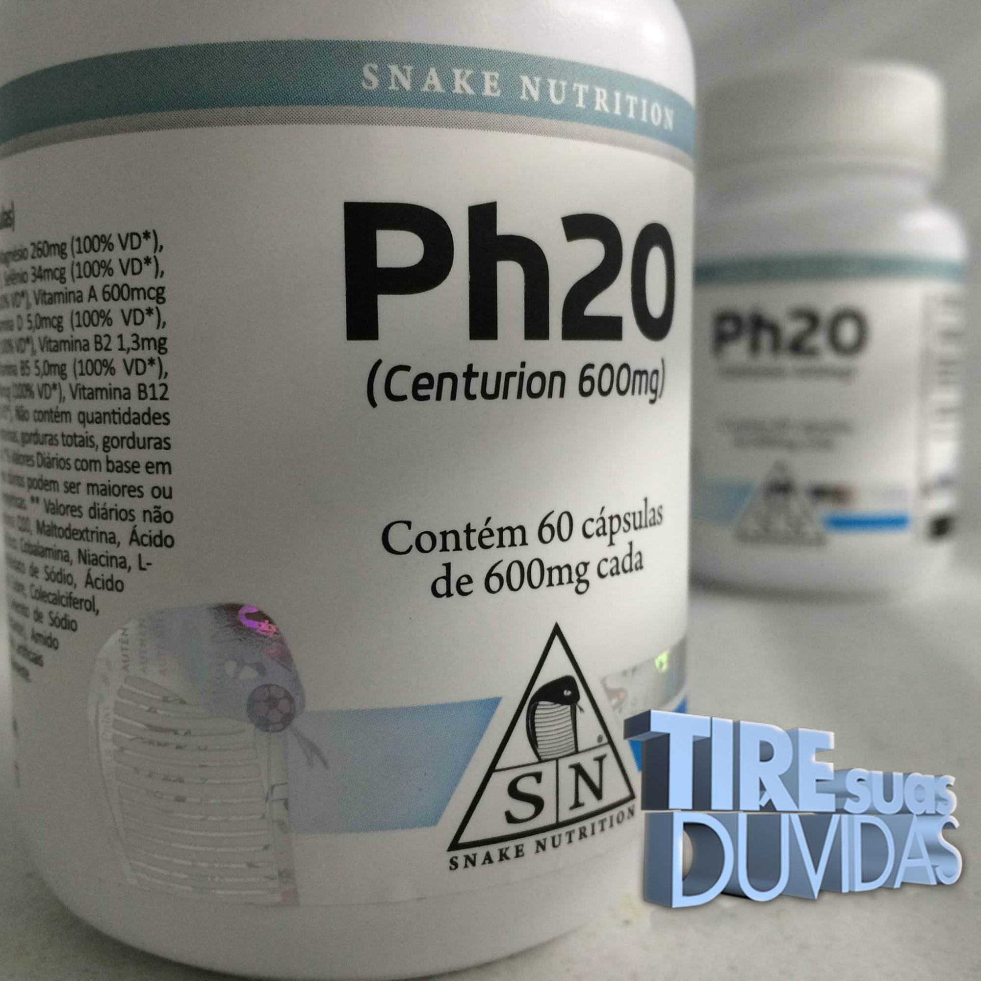 Ph20 - Perguntas e respostas sobre o Ph20 da Snake Nutrition