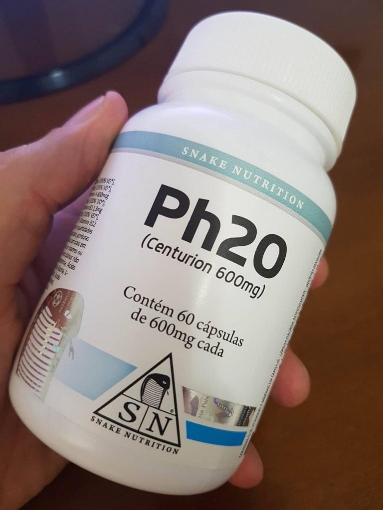 Ph20 - Suplemento para ganhar massa muscular da Snake Nutrition